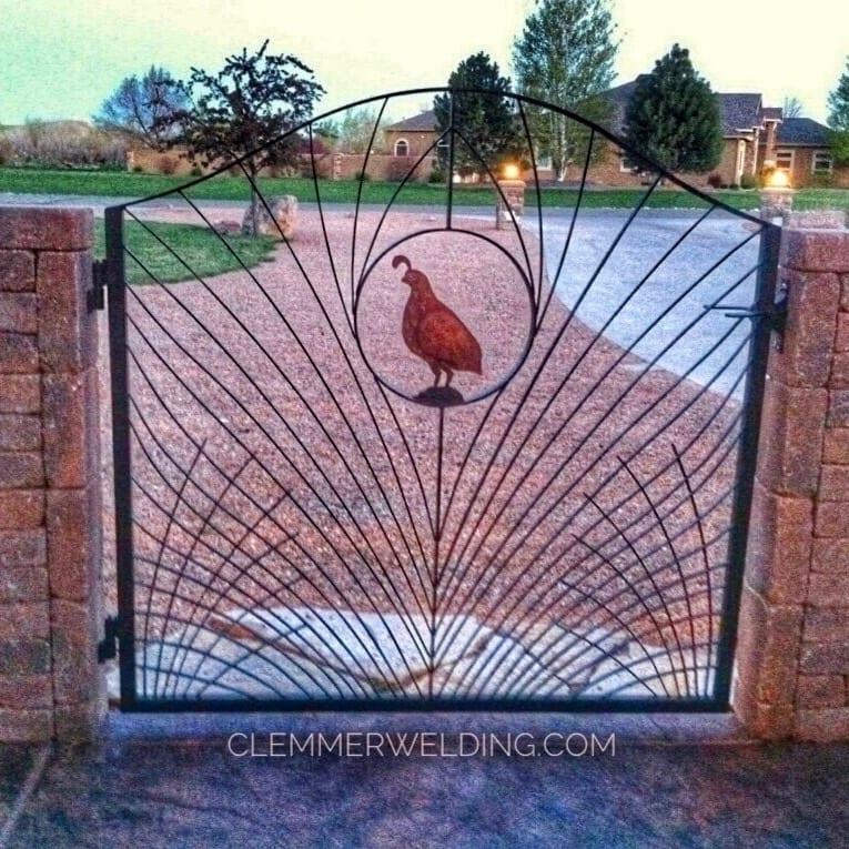 ornamental metal gate